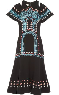 Temperley London Juniper cutout embroidered crepe dress 5 Preview Images