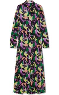 Olivia von Halle Hero printed silk-satin maxi dress 2 Preview Images