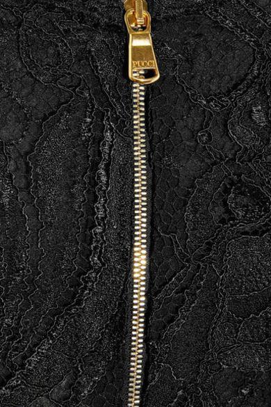 Emilio Pucci Off-the-shoulder Guipure lace dress 4 Preview Images
