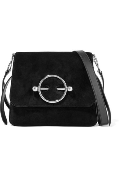 JW Anderson Black Disc Bag 2