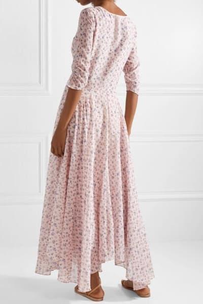 LoveShackFancy Floral Larissa Dress 4