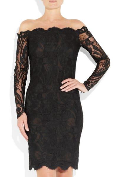 Emilio Pucci Off-the-shoulder Guipure lace dress 2