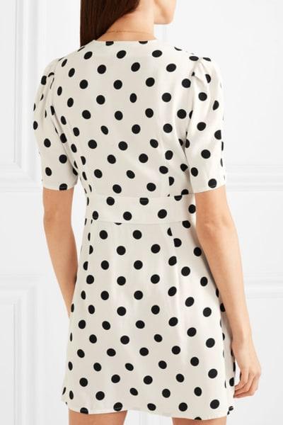 RIXO London Laura polka-dot dress 3