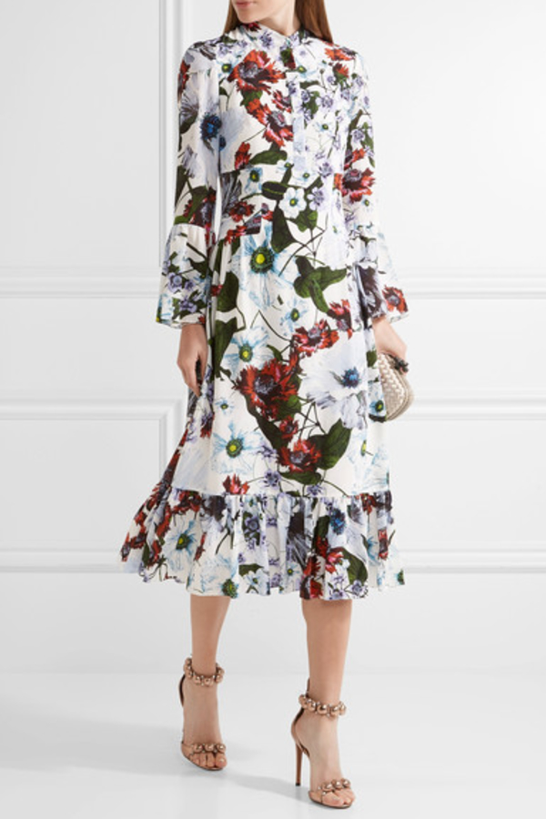 Erdem Darlina Neoprene Dress 4