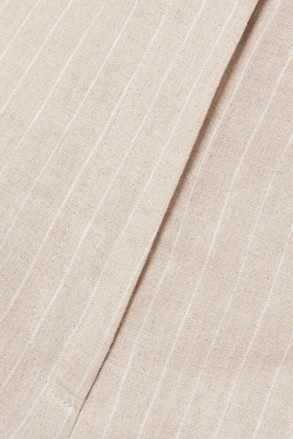 Racil Pinstriped linen trouser 2