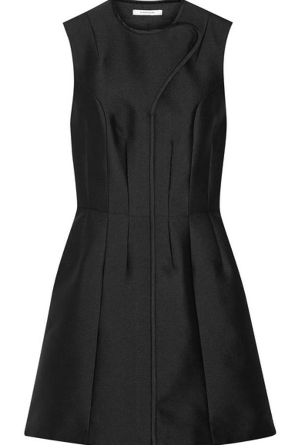 Carven Satin Twill Mini dress
