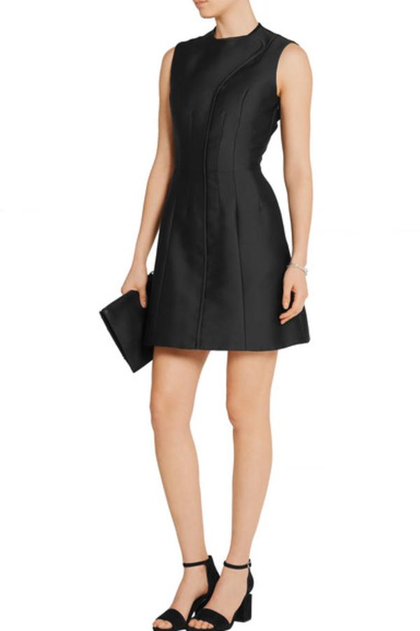 Carven Satin Twill Mini dress  3
