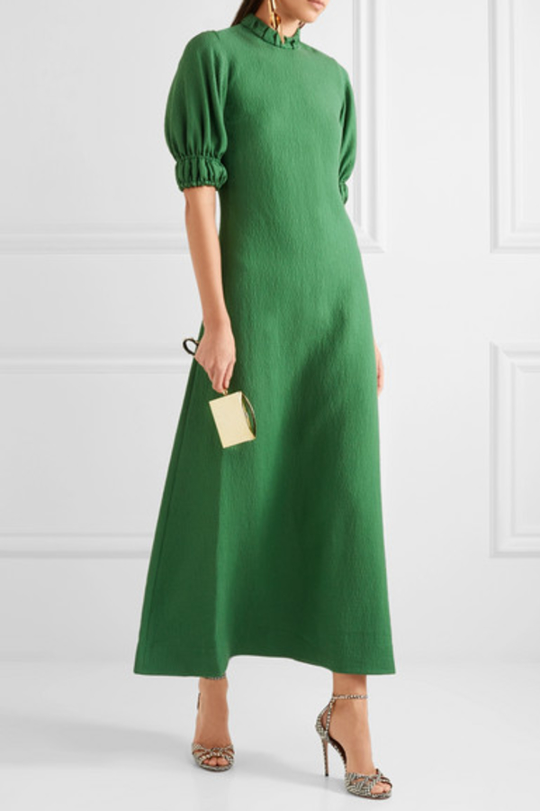 Emilia Wickstead Mimi cloqué maxi dress 2