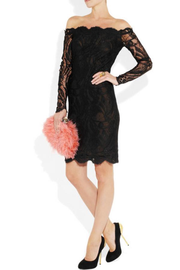 Emilio Pucci Off-the-shoulder Guipure lace dress 3