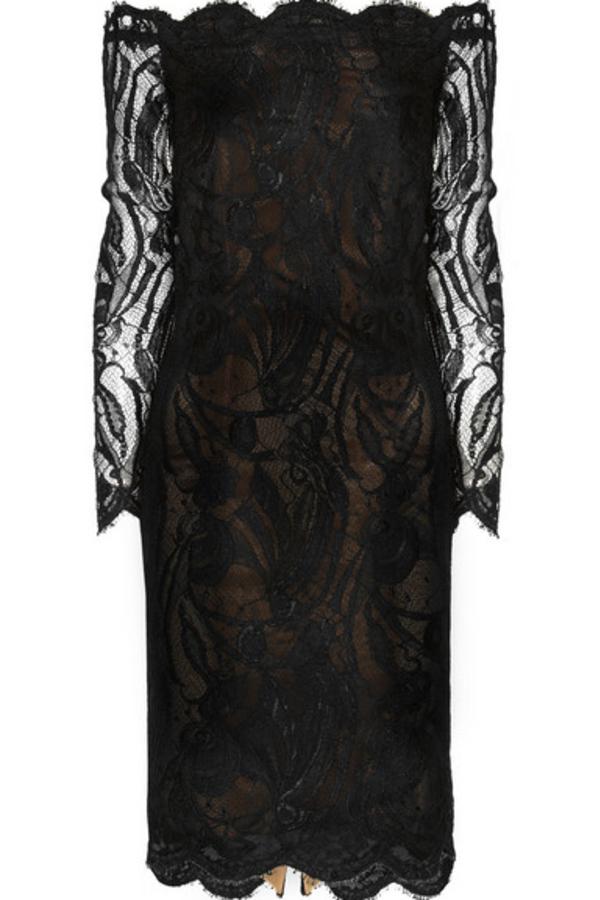 Emilio Pucci Off-the-shoulder Guipure lace dress 5