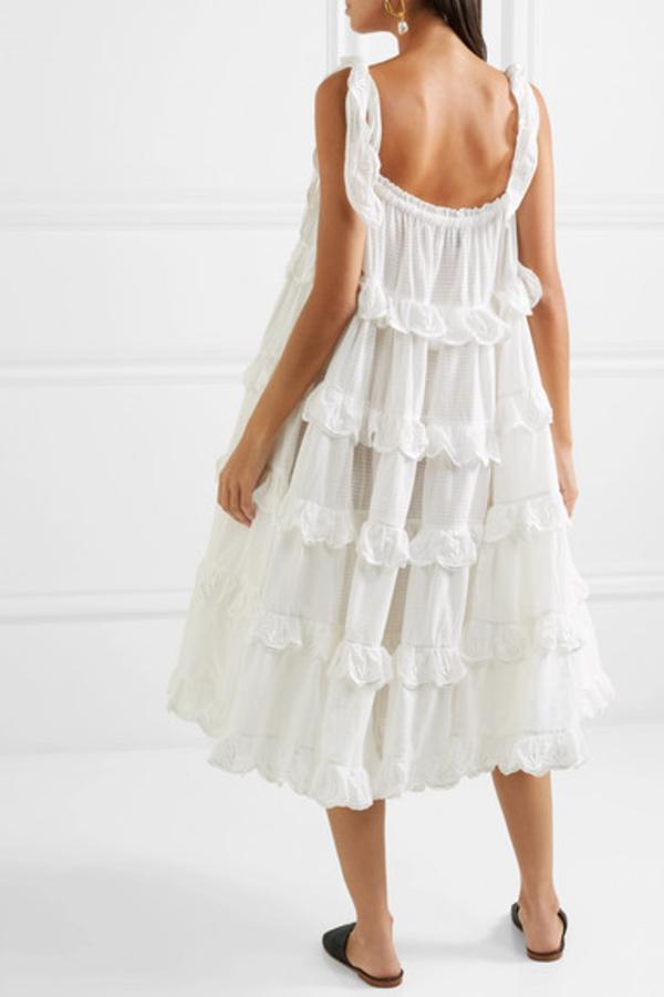 Innika Choo Iva tiered dress 6