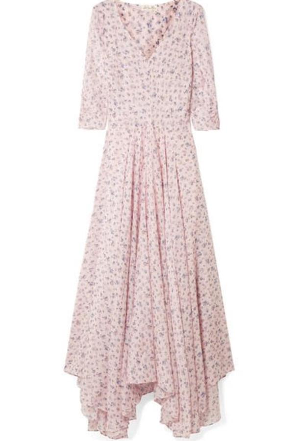 LoveShackFancy Floral Larissa Dress