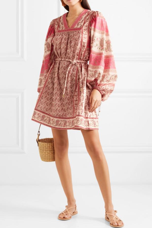 Zimmermann juniper paisley dress  2