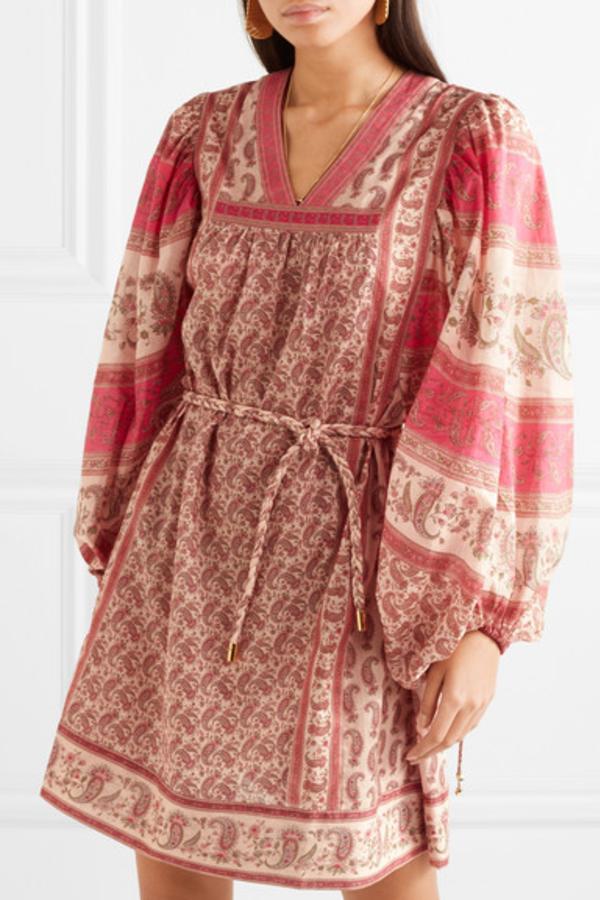 Zimmermann juniper paisley dress  4