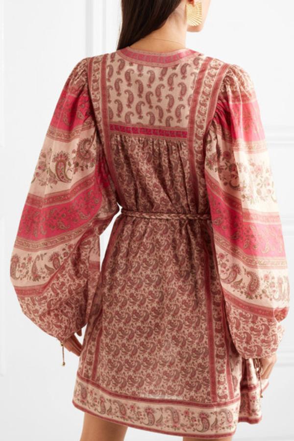 Zimmermann juniper paisley dress  3
