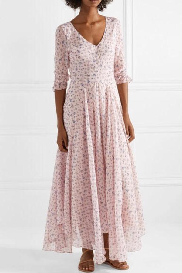 LoveShackFancy Floral Larissa Dress 3