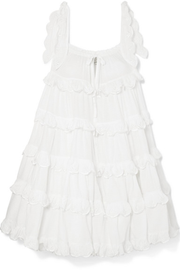 Innika Choo Iva tiered dress