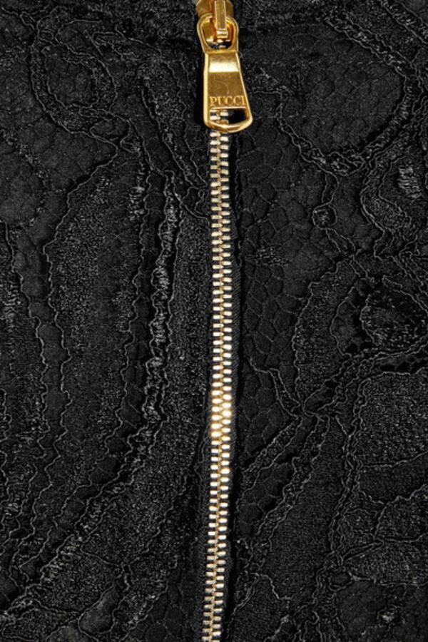 Emilio Pucci Off-the-shoulder Guipure lace dress 4