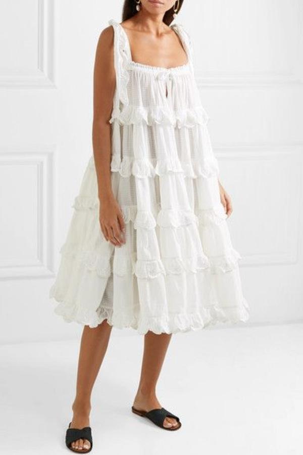 Innika Choo Iva tiered dress 4