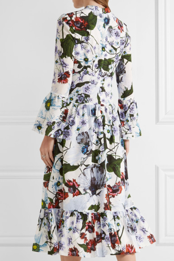 Erdem Darlina Neoprene Dress 5