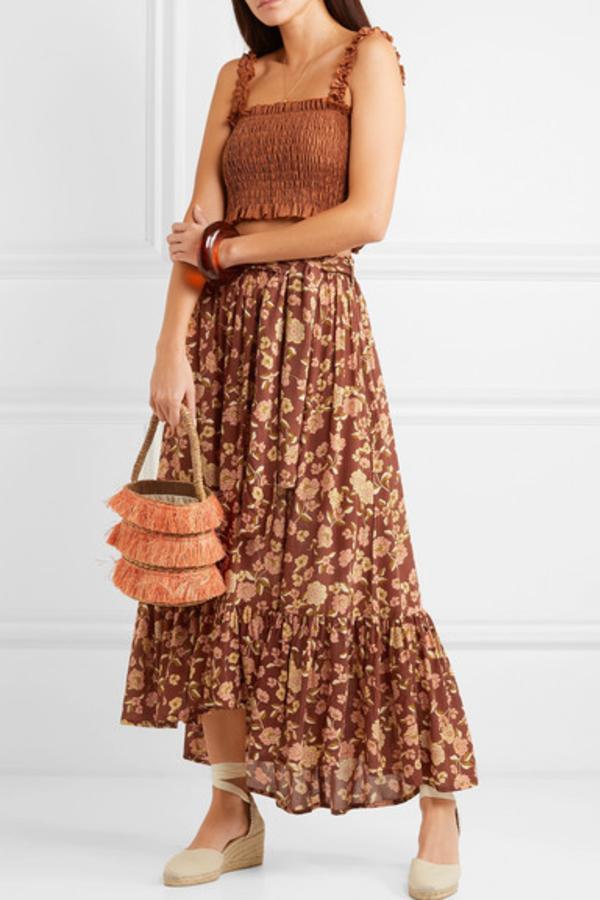 Faithfull The Brand Sabila Maxi skirt 2