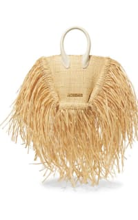 Jacquemus Le Petite Baci Woven Straw Bag Preview Images