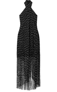Jacquemus Cortese fringed halterneck  Preview Images