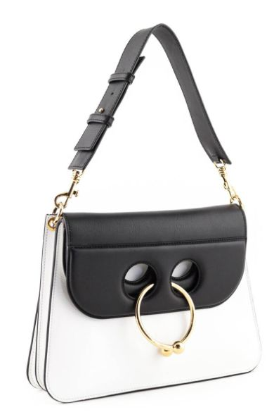 JW Anderson BLACK & WHITE PIERCE BAG Preview Images