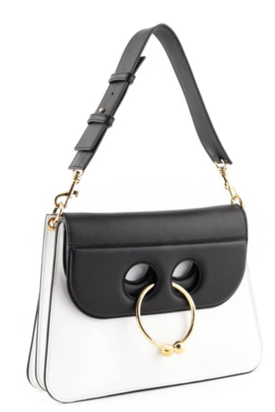JW Anderson BLACK & WHITE PIERCE BAG