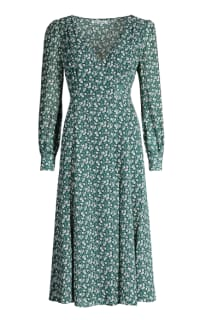 Reformation The Susanna Wrap Dress 2 Preview Images