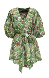 ROMANCE WAS BORN - LACY GARDENS SMOCK DRESS