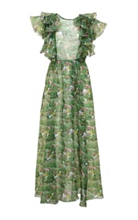 ROMANCE WAS BORN - LACY GARDEN MAXI DRESS