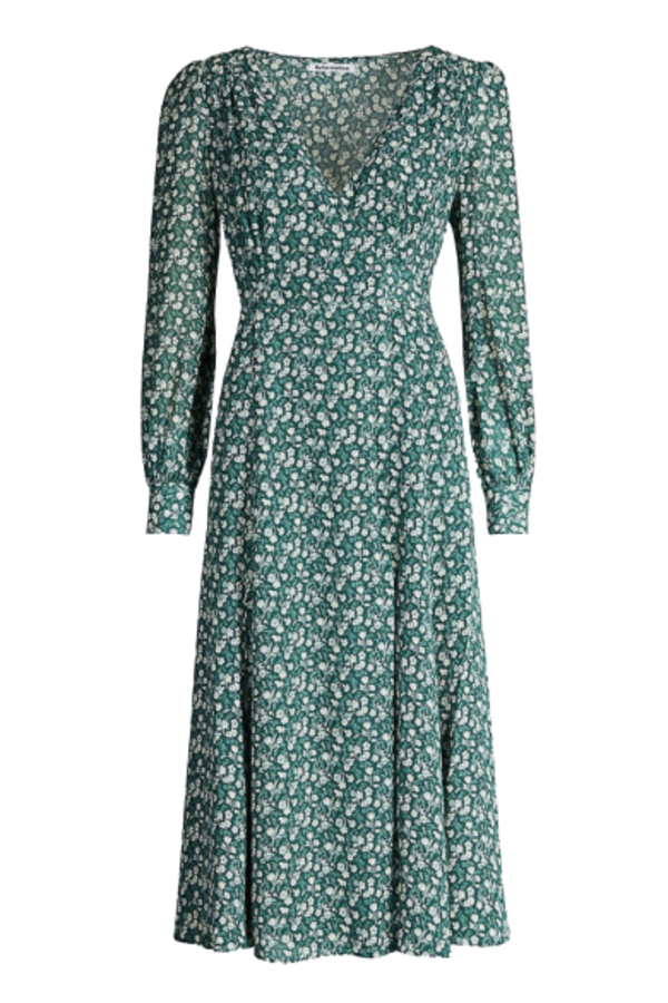 Reformation The Susanna Wrap Dress 2