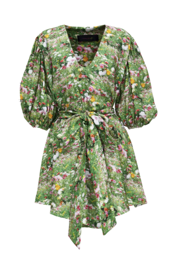 Romance Was Born LACY GARDENS SMOCK DRESS 2