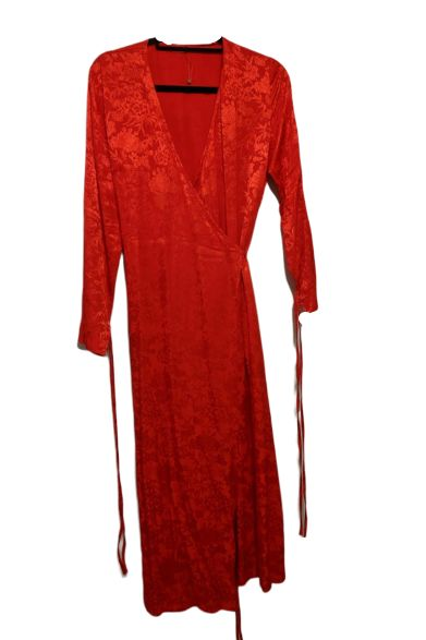 Kitri Odile Red Wrap Dress 2 Preview Images