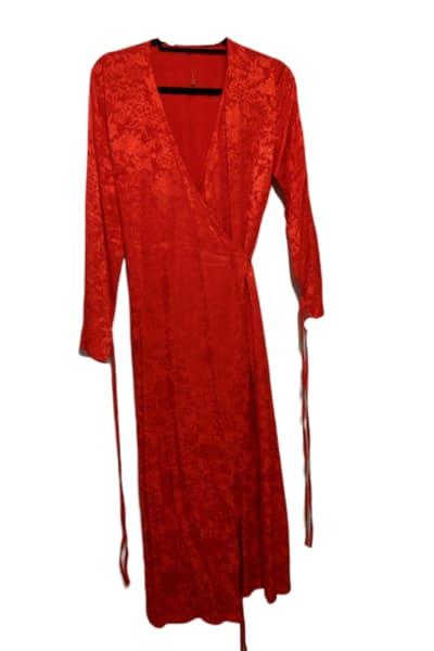 Kitri Odile Red Wrap Dress 2