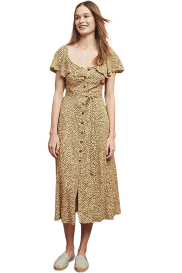 Anthropologie Bolano Dress
