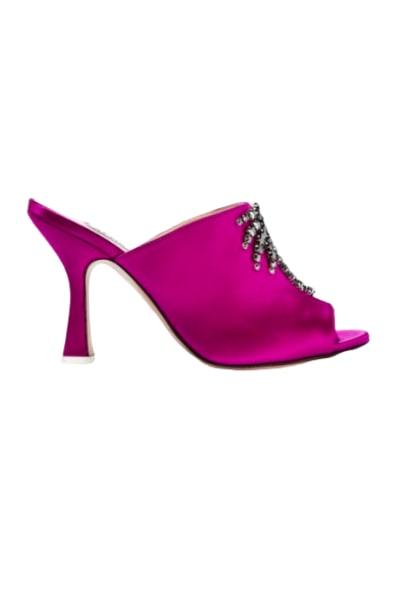 Attico The attico purple sandals 2