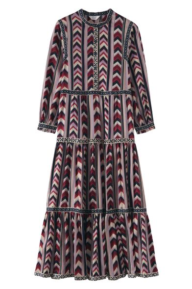 Toast Chevron Striped dress Preview Images