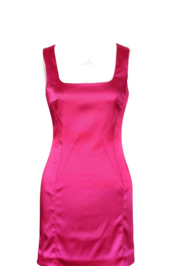Dolce & Gabbana Satin Pink Mini