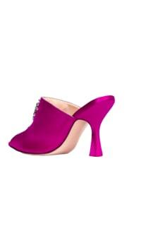 Attico The attico purple sandals 3 Preview Images