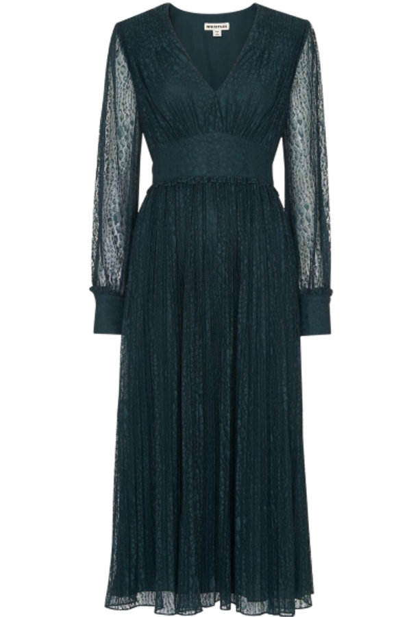 Whistles Emmie Animal Lace Dress