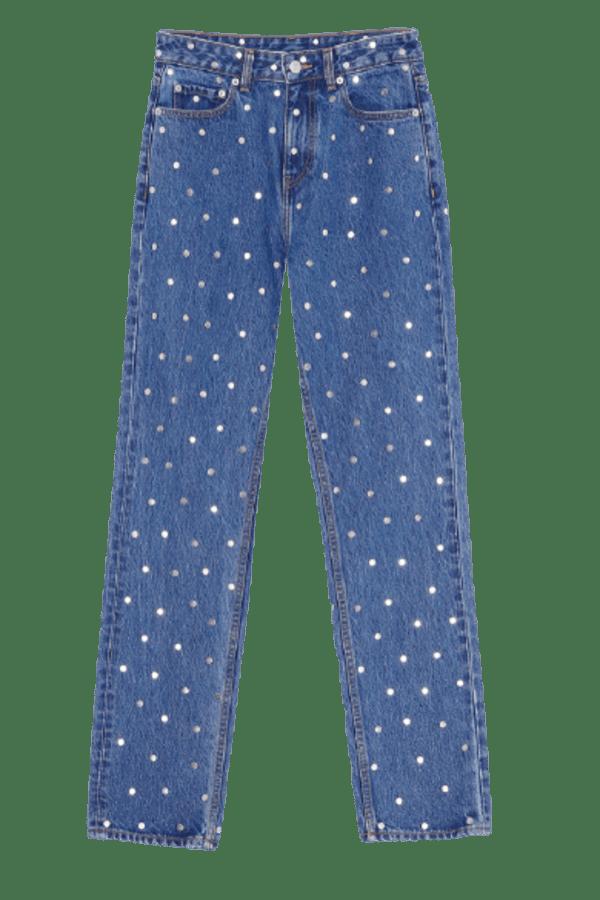 Image 1 of Ganni studded jeans