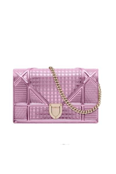 Christian Dior Diorama wallet on chain