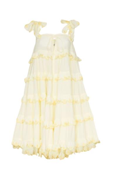 Innika Choo The scallop dress