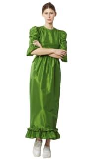 Batsheva Emerald Green Maxi Dress 2 Preview Images