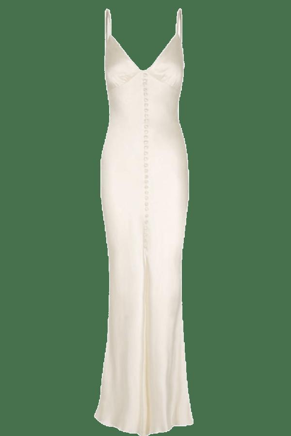 Image 1 of Shona Joy la lune bias slip dress