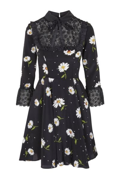 The Kooples Daisy Silk Mini Dress Preview Images