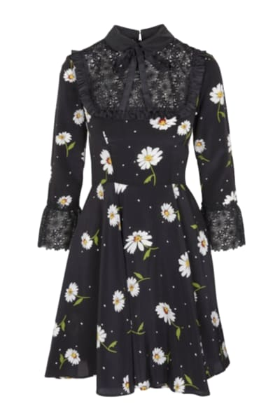 The Kooples Daisy Silk Mini Dress
