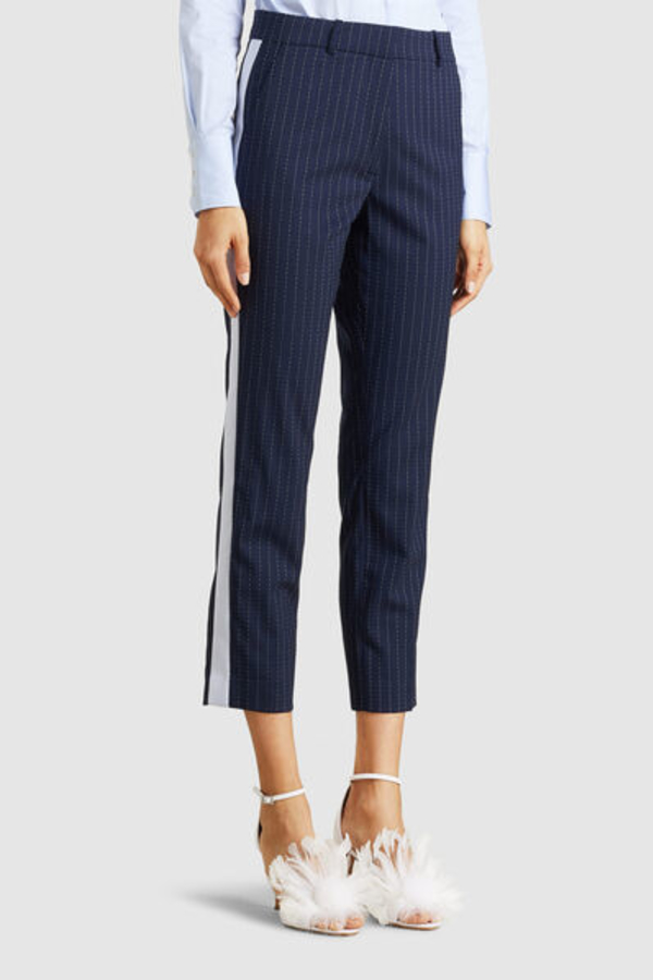 Racil Aires Pinstriped Trousers 4